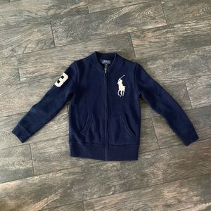 $69 ‼️Navy Polo by Ralph Lauren cardigan size S8